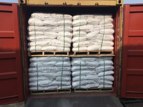 Caustic Soda ready to be shipped!