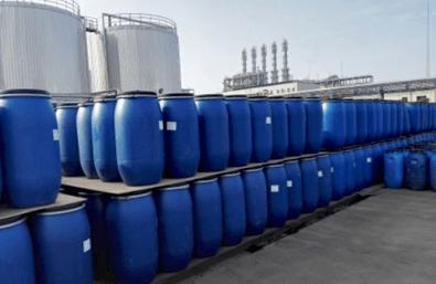 Sodium Laureth Sulfate / SLES stored outside in bulk
