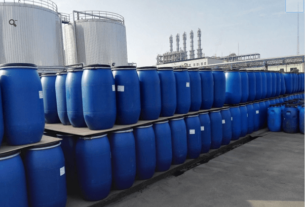 Sodium Laureth Sulfate / SLES stored in PE drums